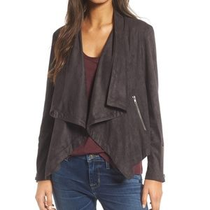 NWT Cupakes & Cashmere Faux Suede Jacket